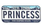 Princess Bike Plate