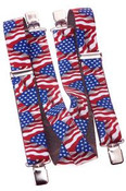 U.S. Flag Suspenders