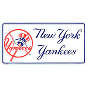 NY Yankees License Plate