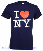 Navy I Love NY T-Shirt