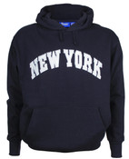 New York Navy Hooded Sweatshirt