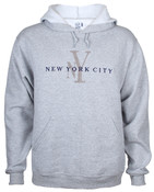 Grey NY Hoody