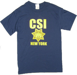CSI New York Navy Tee