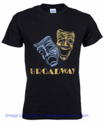 Broadway Phantom Black Tee