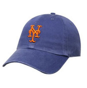 "New York Mets Blue ""Franchise"" Fitted Cap"