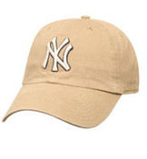 "Yankees Khaki ""Franchise"" Fitted Cap"