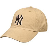 "Yankees Khaki ""Cleanup"" Adjustable Cap"