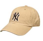 """Yankees Khaki """"Cleanup"""" Adjustable Cap"""