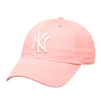 "Yankees Pink ""Cleanup"" Womens Adjustable Cap"