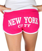 Fuchsia NYC Shorts - Butt