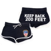 FDNY Navy Hi-Cut Shorts