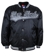New York Black Bomber Jacket