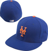 New Era Mets 59FIFTY Royal Authentic Game Cap