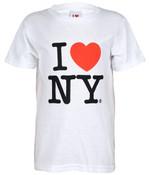I Love NY Classic White Kids Tee