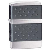 Black Zip Guard Brushed Chrome Zippo