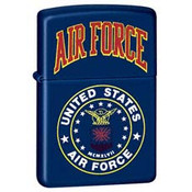 U.S. Air Force Navy Matte Zippo