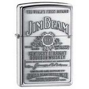 Jim Beam Pewter Emblem Zippo