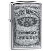 Jack Daniel's Label Pewter Emblem Zippo