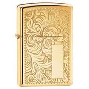 Venetian High Polish Brass Zippo