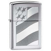 Old Glory High Polish Chrome Zippo