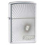 Starburst High Polish Chrome Zippo
