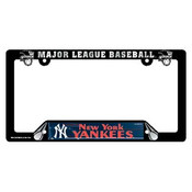 Yankees Plastic License Plate Frame