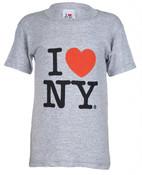 """I Love NY """"Classic"""" Ash Kids Tee"""