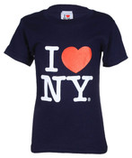 "I Love NY ""Classic"" Navy Kids Tee"