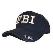 FBI Navy Adjustable Cap