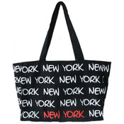Robin-Ruth NY Black/White/Red Tote Bag
