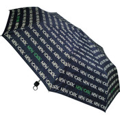 New York Black/Green Umbrella