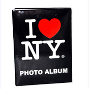 I Love NY Black Small Photo Album