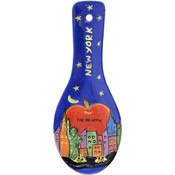 NYC Hand Painted Ceramic Spoon Rest