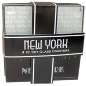 NYC Skyline Coasters (Set of 4)