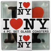 I Love NY Coasters (Set of 4)