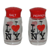 I Love NY Salt & Pepper Shakers