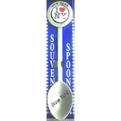 I Love NY Color Swivel Souvenir Spoon