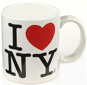 I Love NY White 11oz. Mug