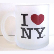 I Love NY Frosted 11oz. Mug