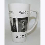 NYC Black & White Pictures Java Mug