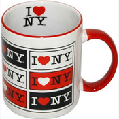 I Love NY Multi 11oz. Mug