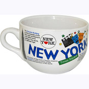 NYC Collage Soup Mug