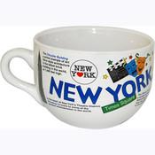 NYC Collage Soup Mug