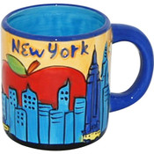 NYC Yellow Skyline 11oz. Mug
