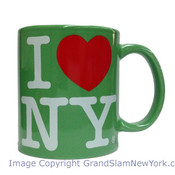 I Love NY Green 11oz. Mug
