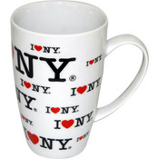 "I Love NY ""All Over"" Java Mug"