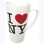 I Love NY White Java Mug