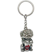 NY Big Apple Doggy Keychain