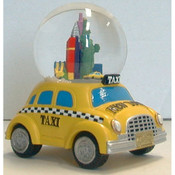 NYC Taxi Base 45mm Snowglobe