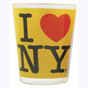 I Love NY Yellow Shot Glass